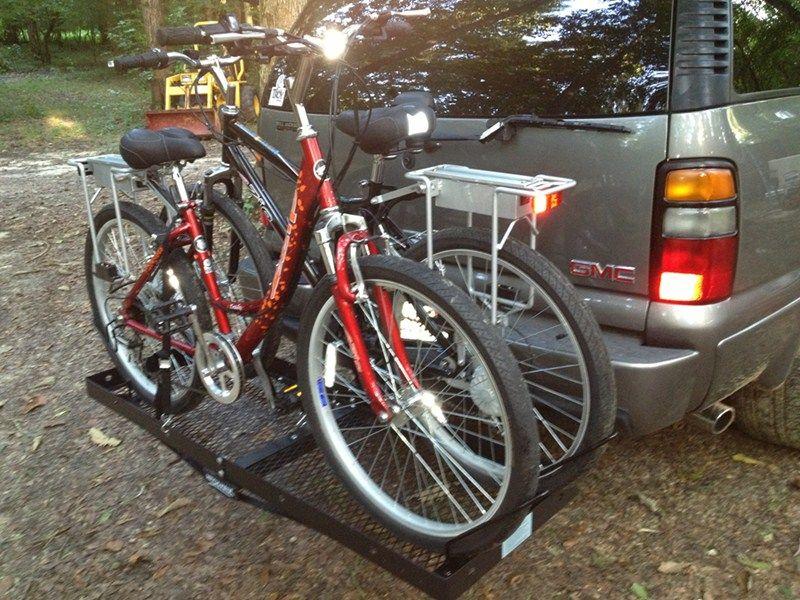 Bike Rack Adapter For Stromberg Carlson Hitch Mounted Cargo Carrier Stromberg Carlson Accessories An Hitch Mounted Cargo Carrier Cargo Carrier Bike Rack
