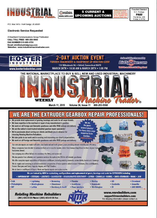 Click To View The 3 11 Issue Of Industrial Machine Trader