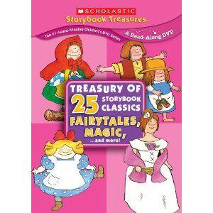 Treasury of 25 Storybook Classics: Fairytales, Magic... and More! (Scholastic Storybook Treasures)