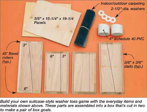Image Washer Toss Game Instructions Great For The Whole