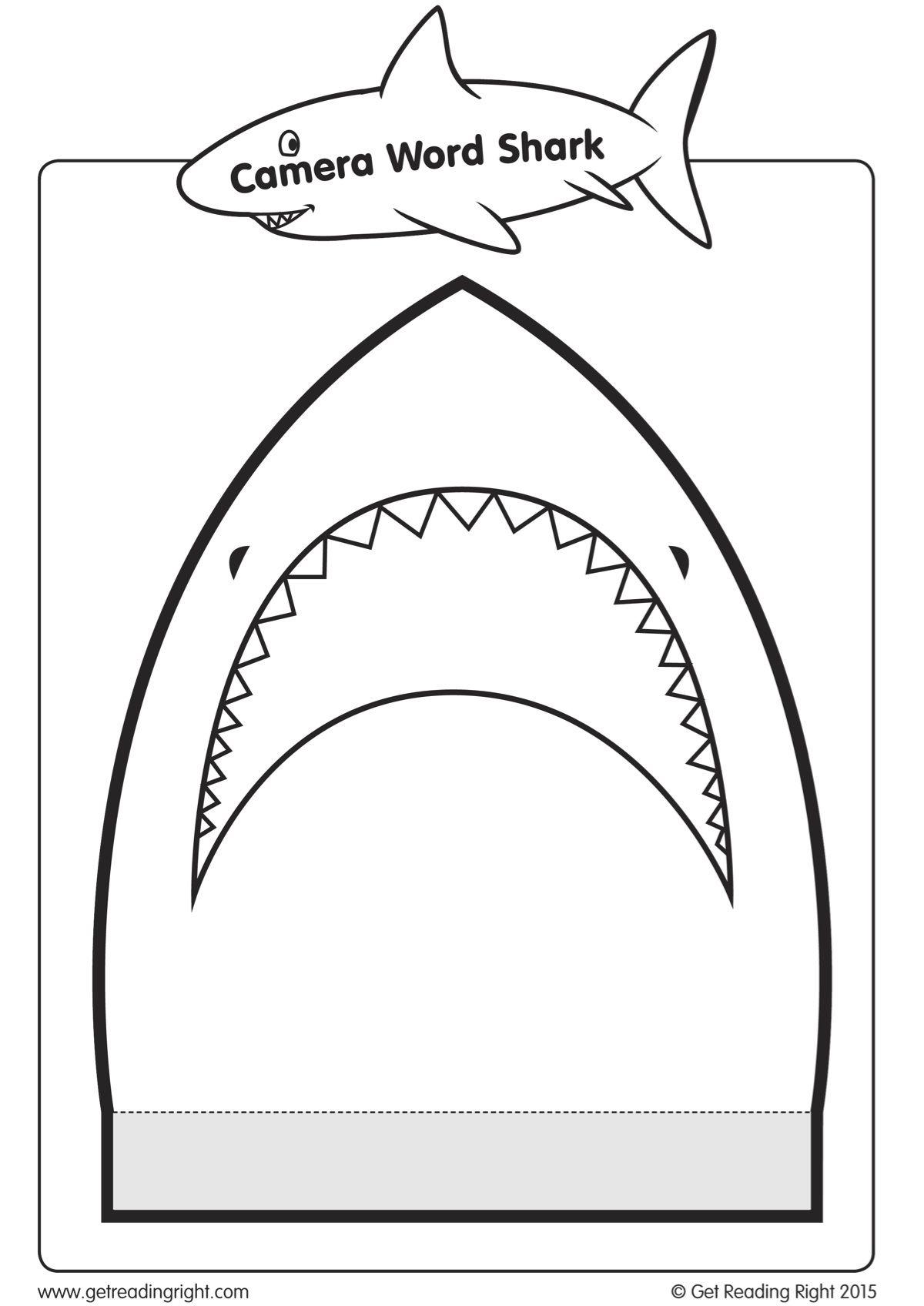Camera Word Shark Rotation Activity