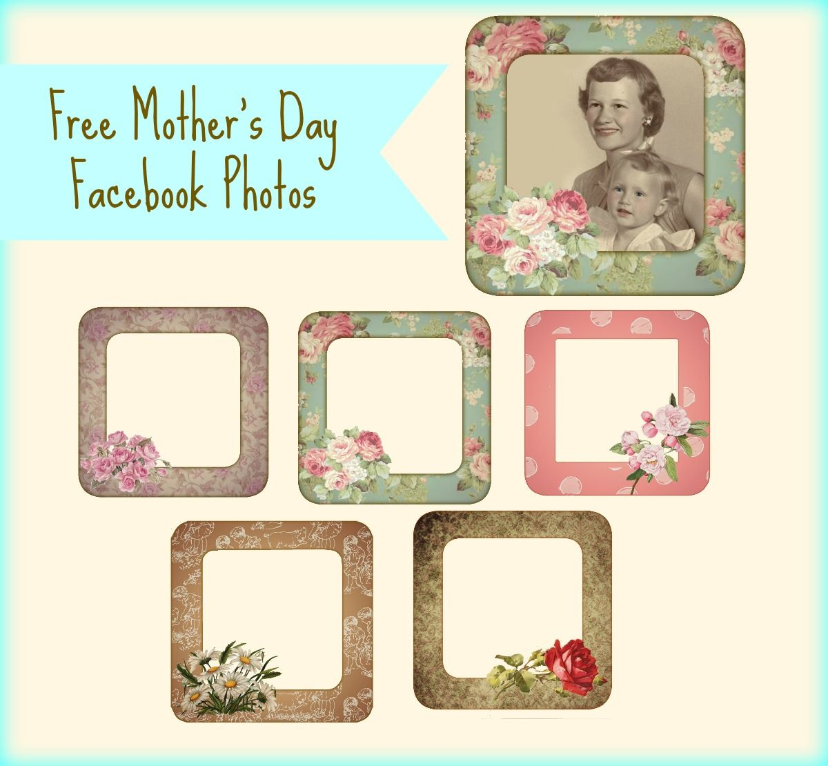 free facebook mothers day photo frames - Mothers Day Pictures Frames
