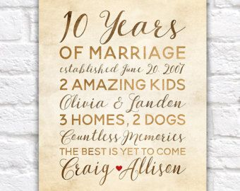 20th Wedding Anniversary Art Personalized With Names And Etsy 60th Wedding Anniversary Gifts 60th Anniversary Gifts 60 Year Wedding Anniversary