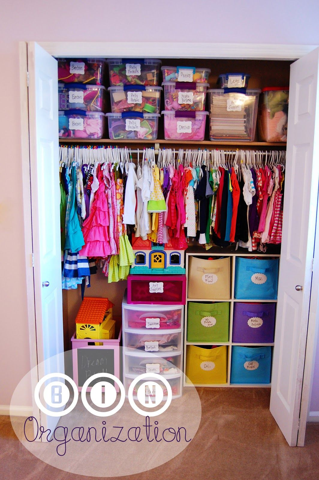 Practical Organizational Ideas For Kids Room Organization Is Key Pinterest Baby Closets Home And Baby Room