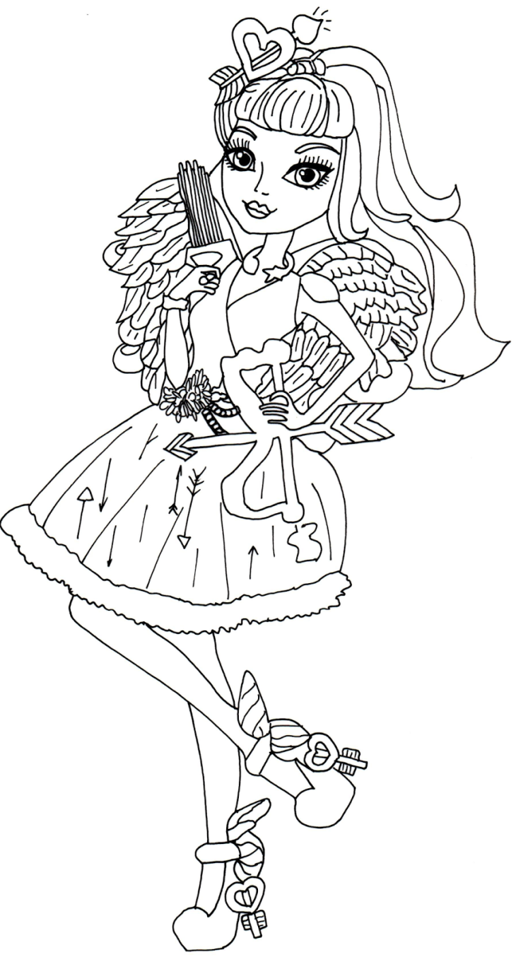 Ever After High Raven Queen Coloring Pages - Viewing Gallery | Ever ...