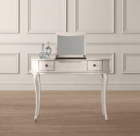 Lucie Mini Vanity As Entry Table For Primping Before You Head Out The Door By Restoration Hardware Baby Child