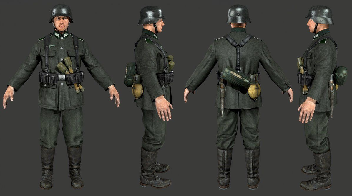 Heroes And Generals German Soldier By Luxox18 On Deviantart