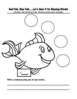 one fish two fish red fish blue fish literary analysis