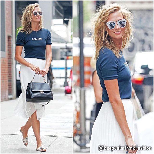 Karlie Kloss in Aritzia out in New York. (GotCeleb) #newyork #streetstyle #redcarpet #celeb #celebstyle #instaceleb #instastyle #instafashion #fashion #fashionista #style #keepcalmthinkfashion #karliekloss @karliekloss #aritzia @aritzia