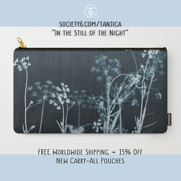 """""""In the Still of the Night"""" New Carry-All Pouch by tanjica To activate promo discount, click here: https://society6.com/tanjica?promo=MYPTKYJ8W4KR"""