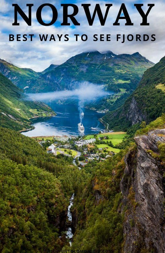 7 different ways to see the incredible Norwegian fjords