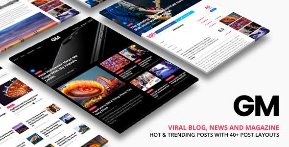 Grand Magazine | Magazine WordPress for Magazine