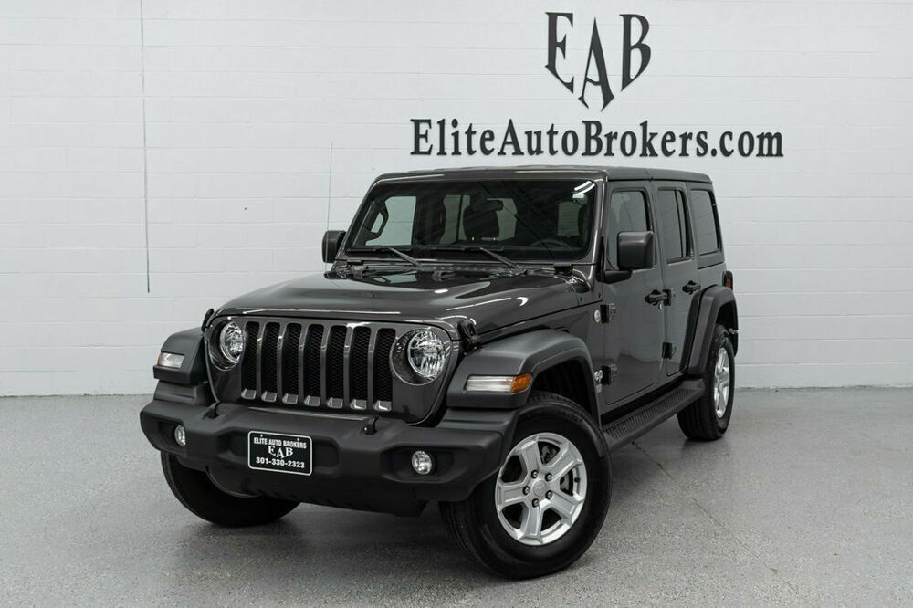 2019 Jeep Wrangler Unlimited Sport S 4x4 Port S 4x4 12k