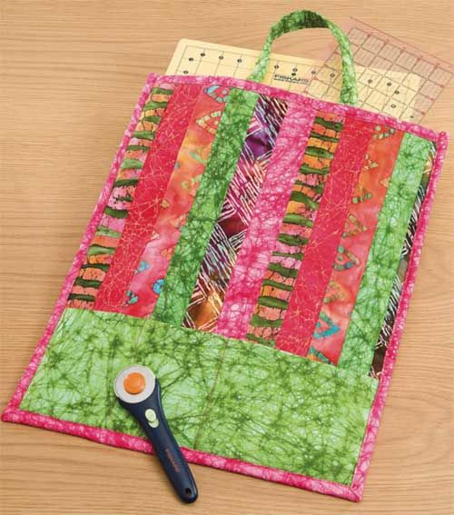 Quilted Take Along Tote - Free Sewing Pattern