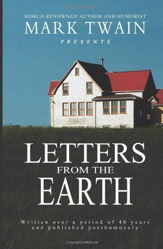 Letters From the Earth by Mark Twain (1963 Paperback