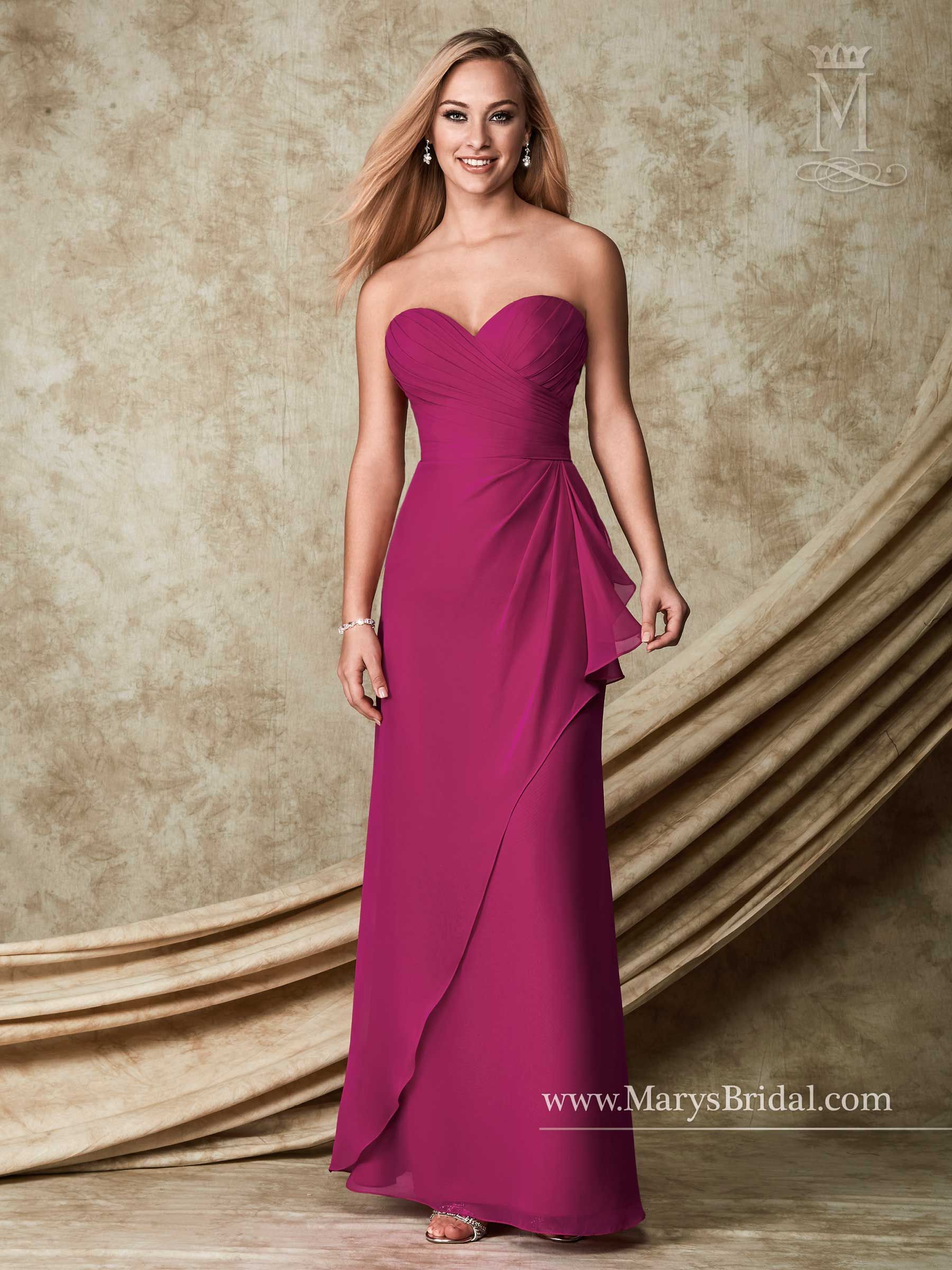 bridesmaids - modern maids - style: m1502mary's bridal gowns