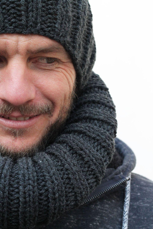 Free Men\'s Hat Knitting Pattern | Knit patterns, Coffee and Winter