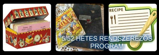 5 Az e heti kihívás a receptek és szakácskönyvek rendszerezése lesz c94b8cc84a