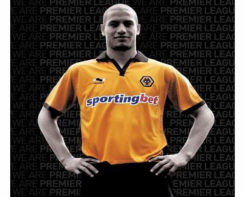 Wolves 2010-11 Wolves Burrda Home Football Shirt Official 2010-11  Wolverhampten Wanderers Short 1afa1fcd9