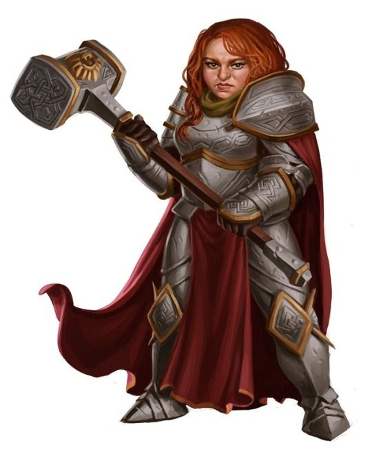 RPG Female Character Portraits   Female dwarf, Fantasy dwarf, Dungeons and dragons characters