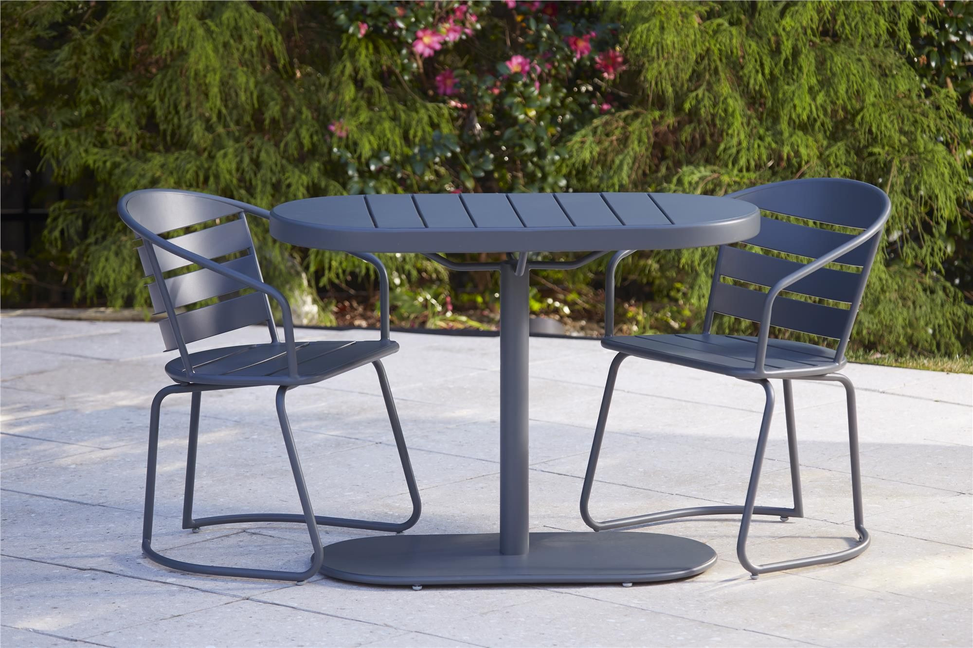 outdoor steel garden rochester set metal and patio furniture glider iron chairs unique