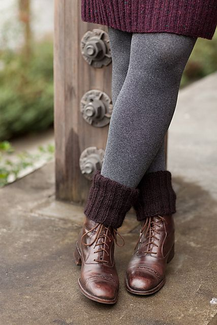 Ravelry: Cozy Boot Cuffs pattern by Churchmouse Yarns and Teas