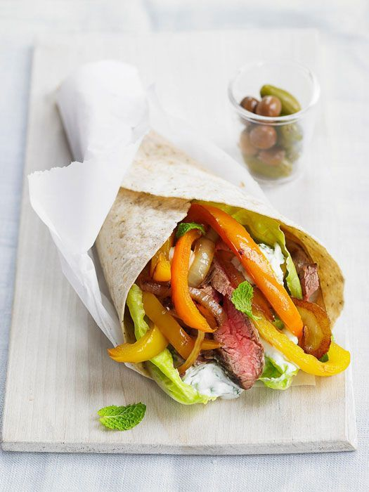 Flank Steak Souvlakis #recipesforflanksteak