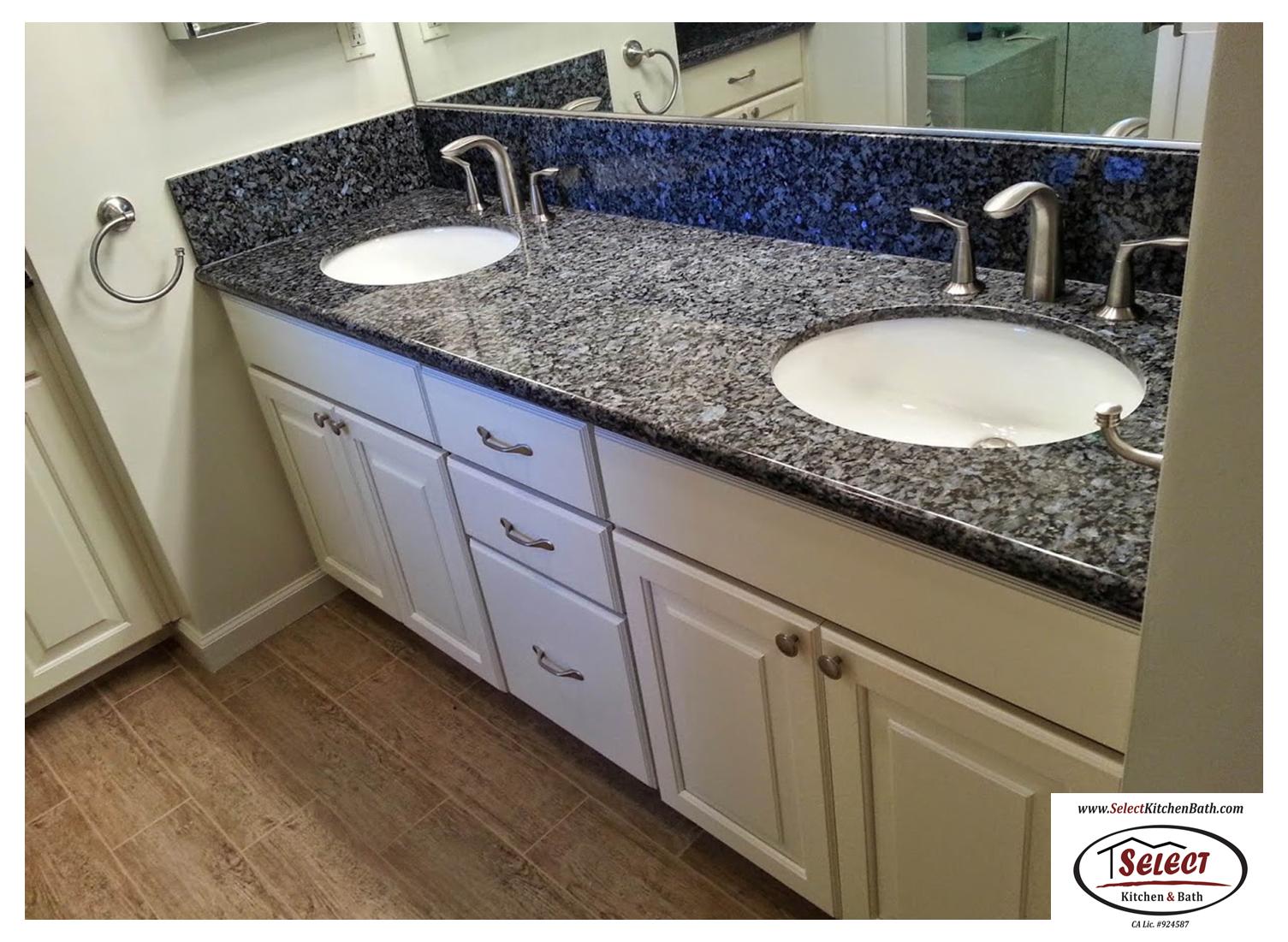 Beautiful Granite Bathroom Vanity Countertop Select Kitchen Bath Roseville Ca Kitchen Bathroom Remodel Vanity Countertop Kitchen And Bath