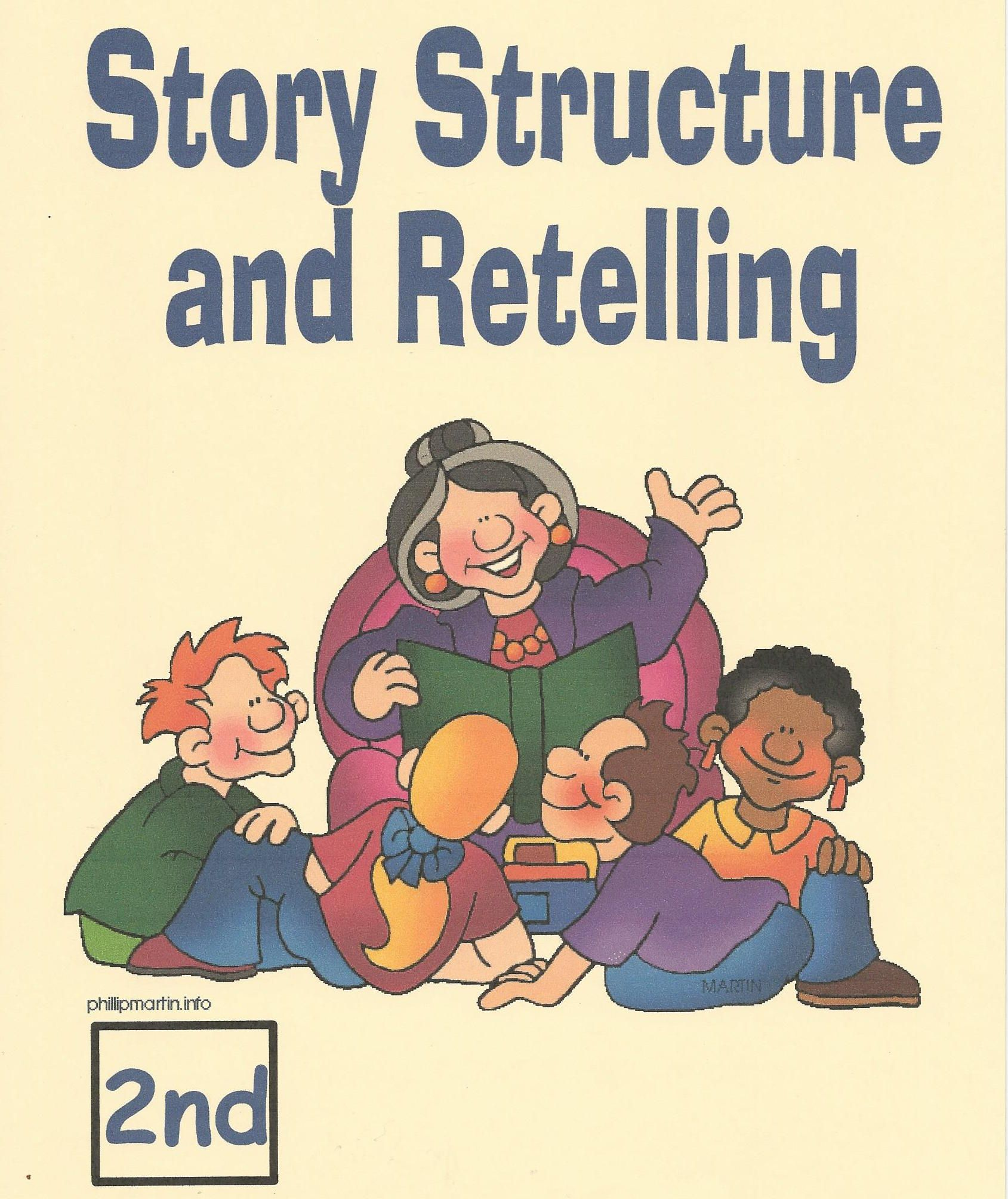 Reading Comprehension 2nd Grade Story Structure Retelling