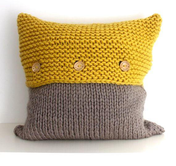 Knitting Pattern PDF, The FRENSHAM Pillow Pattern, Home