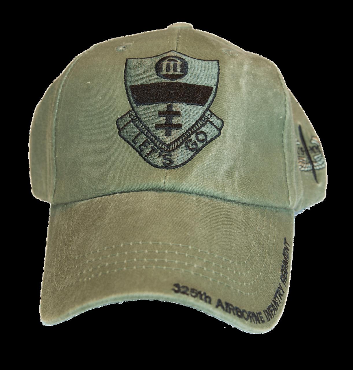 c76b2c1a26b7b 325th Airborne Infantry Regiment (AIR) Baseball Cap - US Military  Marketplace