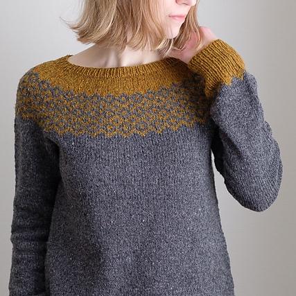 10 Top Down Seamless Raglan Sweater Patterns | Knitting ...
