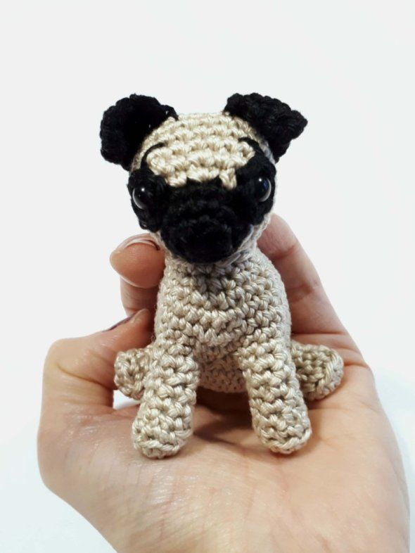 pug-crochet-pattern | Pug | Pinterest | Dog and Galleries