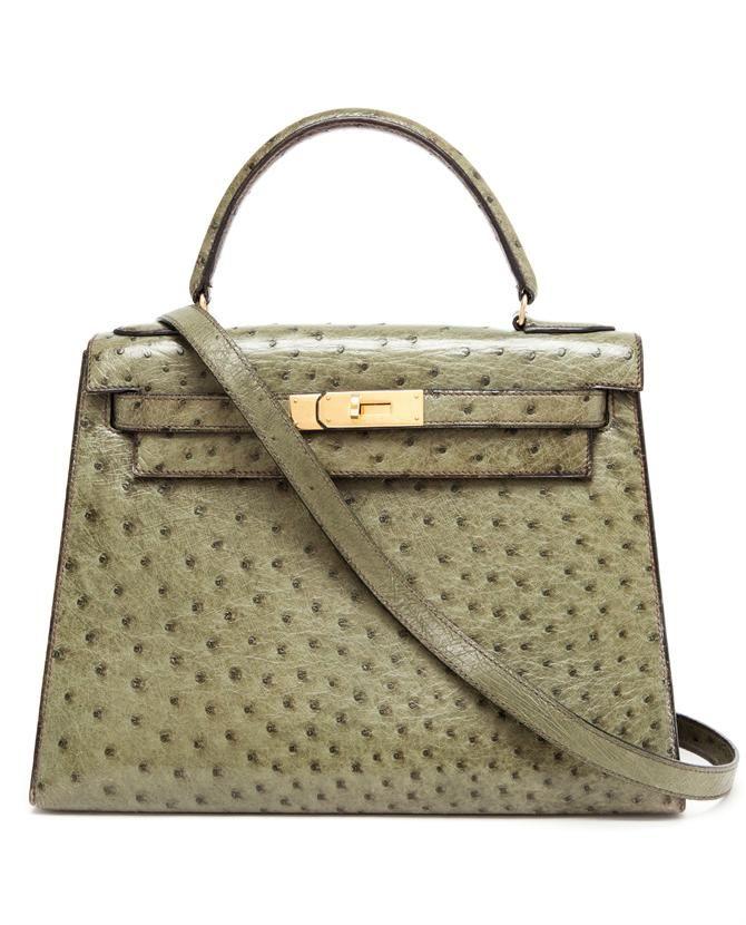 f3c61cb7d601 ... germany vintage hermes 1977 vintage vif ostrich kelly handbag afd4a  30749
