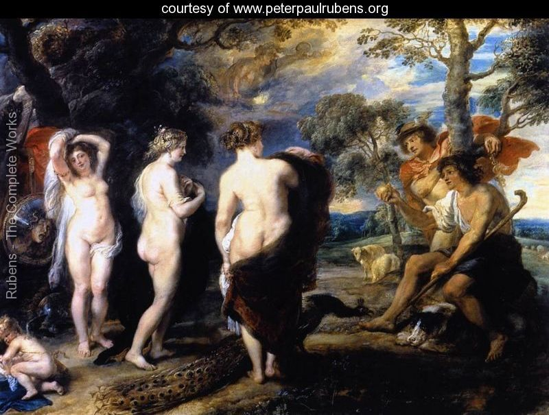 The Judgment of Paris c. 1636 - Peter Paul Rubens - www.peterpaulrubens.org