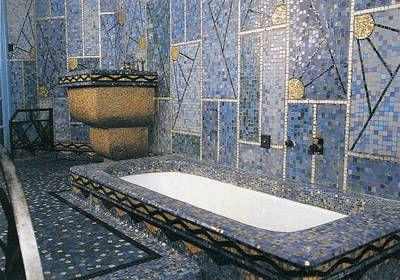 maison bleue angers odorico mosaics salle de bain. Black Bedroom Furniture Sets. Home Design Ideas