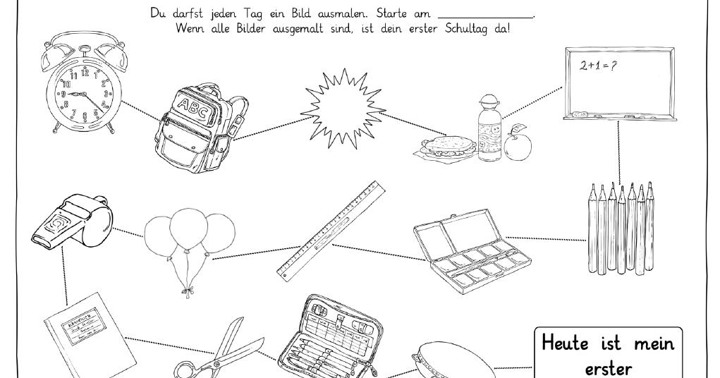 Viele Schulen Schreiben In Den Ferien Briefe An Die Kunftigen Erstklassler Dabei Ist Oft Ein Blatt Oder Eine Rahmen Auf Dem Bri In 2020 Schulbeginn Schule Grundschule