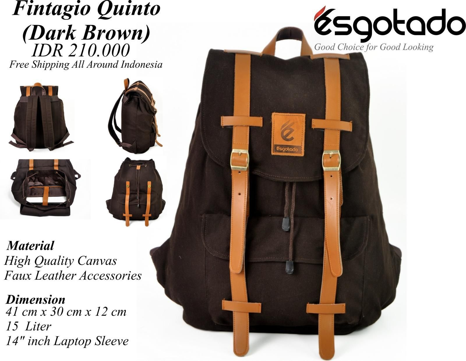 FINTAGIO QUINTO DARK BROWN sms/whatsapp: 082219180163 pin: 7DD85355 (full) BBM CHANNEL: C002012CF LINE: cs.esgotado