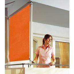 Stunning ANGERER FREIZEITM BEL Balkonsichtschutz Polyehtylen uni orange in Breiten
