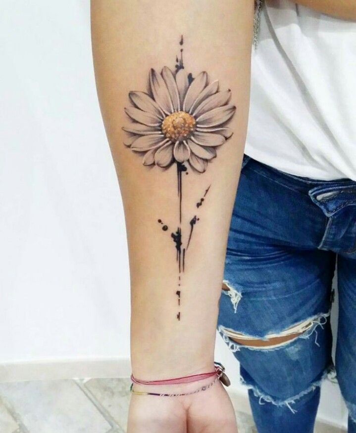 Realistic Daisy Tattoo: Realistic Daisy (With Images)