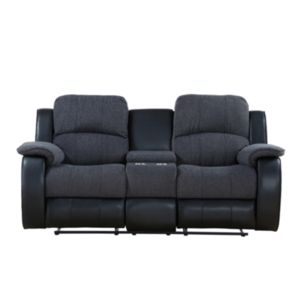 Outstanding Chicago Two Seater Console Electric Recliner Sofa Seaside Pdpeps Interior Chair Design Pdpepsorg