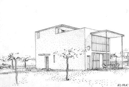 maison citrohan - Google-søk Architectural drawings Pinterest