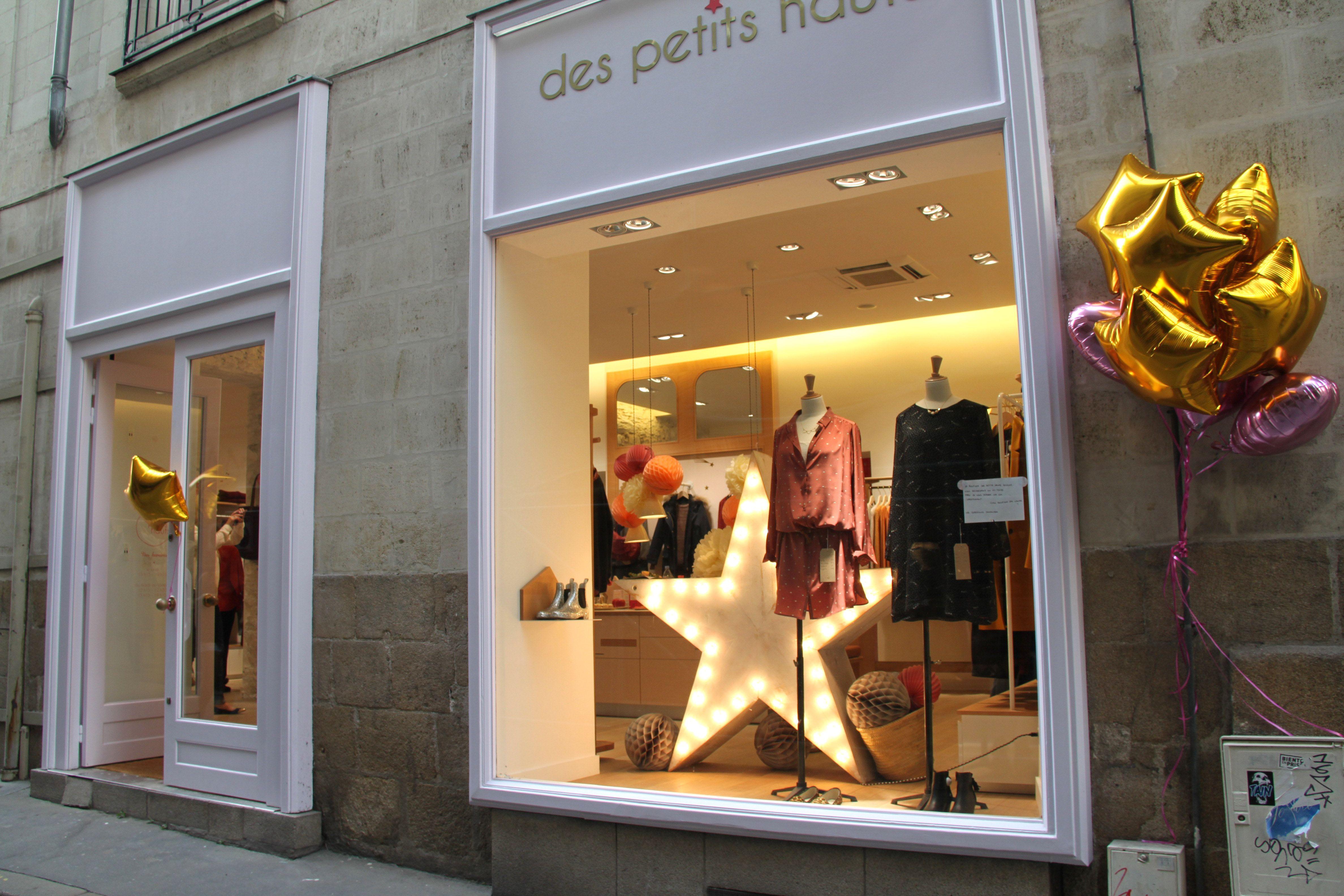 Vitrine De La Boutique Des Petits Hauts De Nantes Nantes Ville Nantes Villa