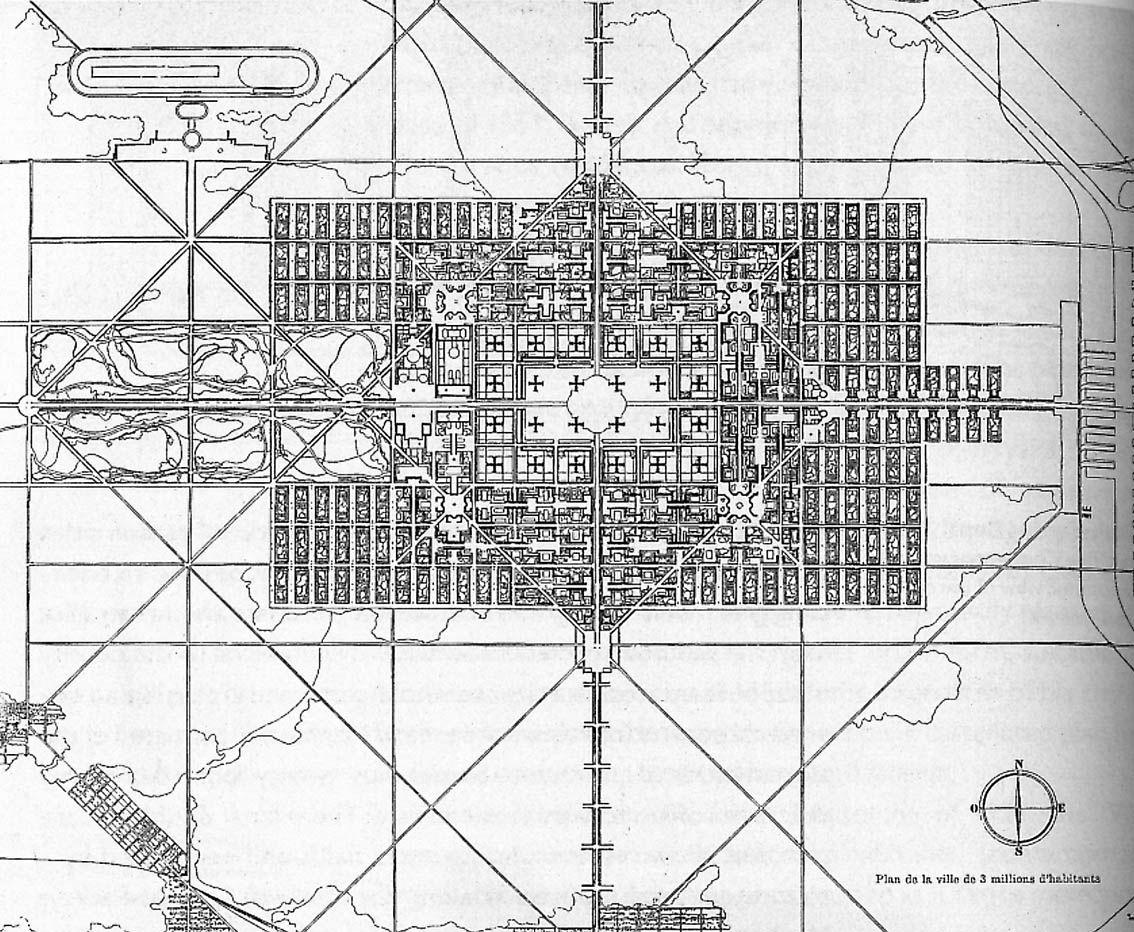 le corbusier ville contemporaine 1922 le corbusier in