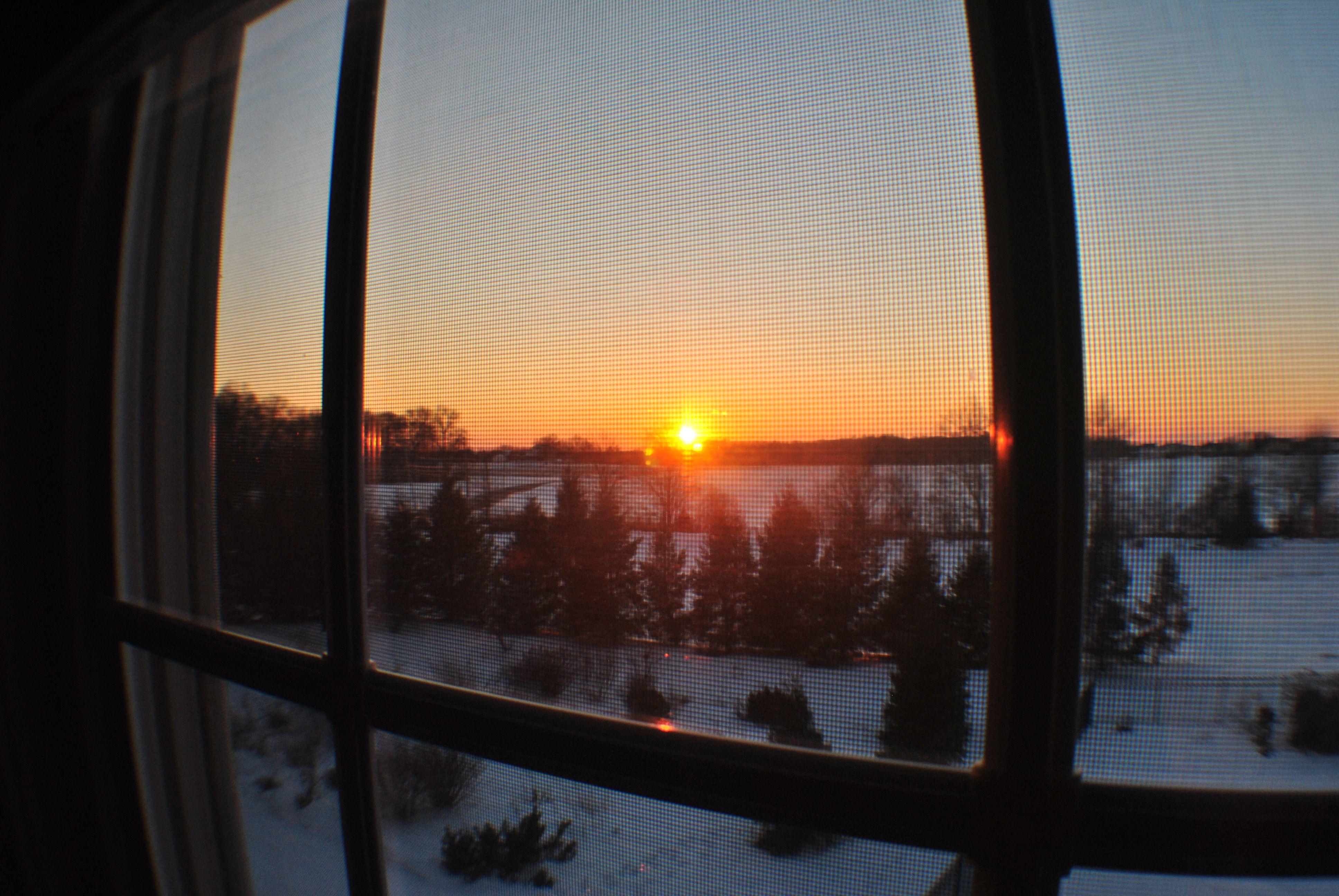 Sunset, New Jersey.