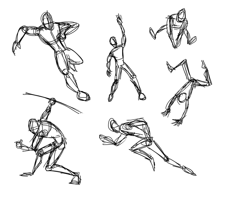 Related Image Poses Dynamic Poses Sketches