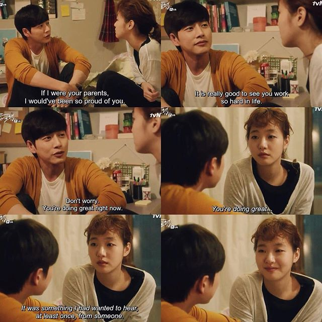 """Asian Drama Scenes on Instagram: """" Cheese In The Trap EPISODE 6 When Jung  complimented Seol and sh… 