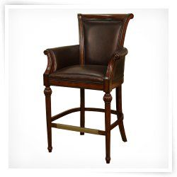 24 Bar Stools with Arms | ahb federico bar stool · Home Bar FurnitureFine  ...