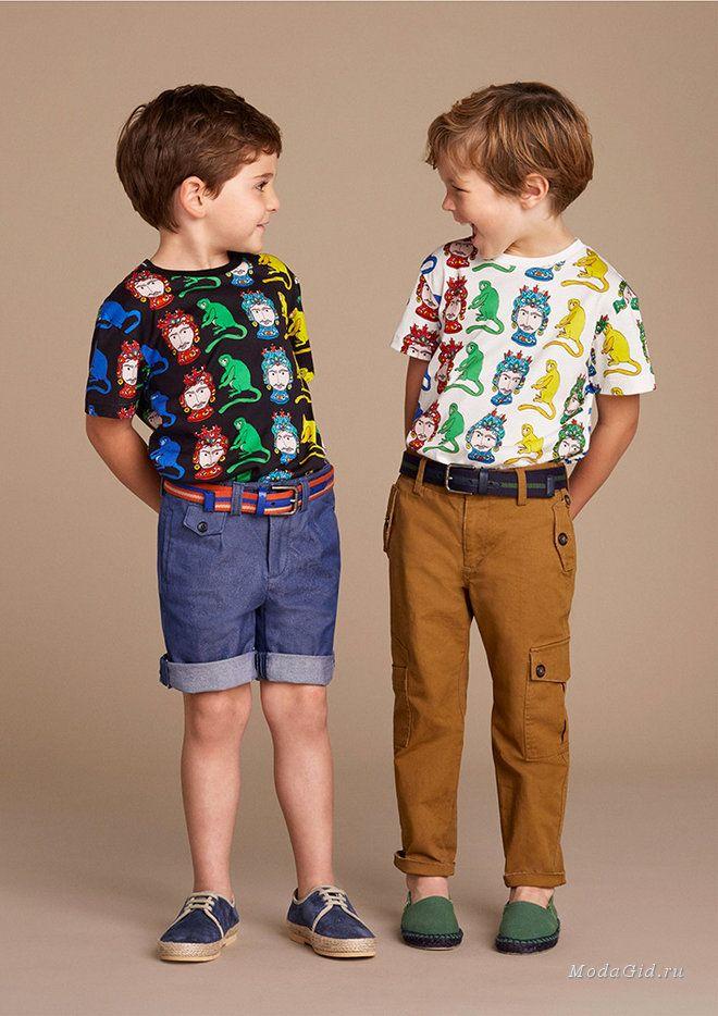Детская мода: Детская коллекция Dolce & Gabbana, весна ...