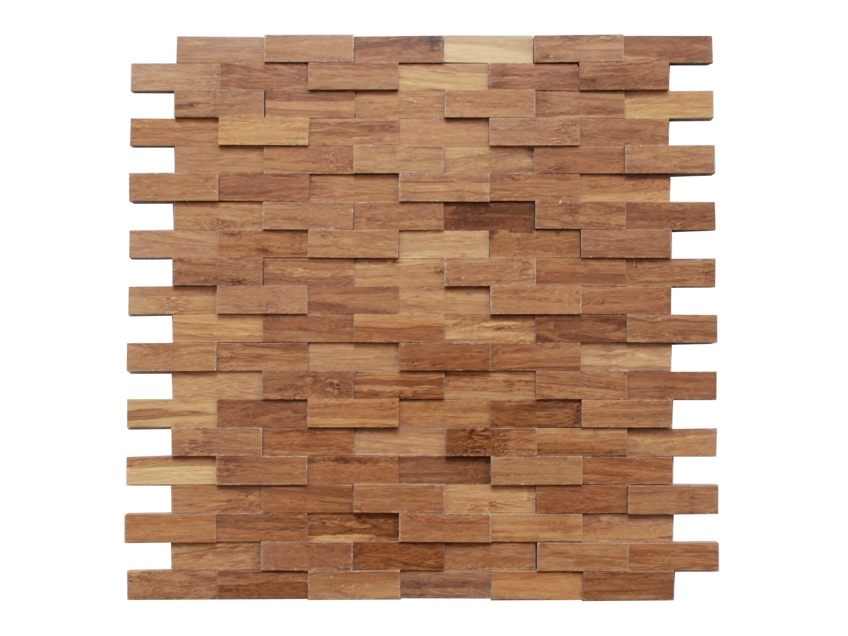 3d mosaikfliese aus bambus f r innen kul sc b3 3d mosaikfliese kul bamboo wandverkleidung. Black Bedroom Furniture Sets. Home Design Ideas